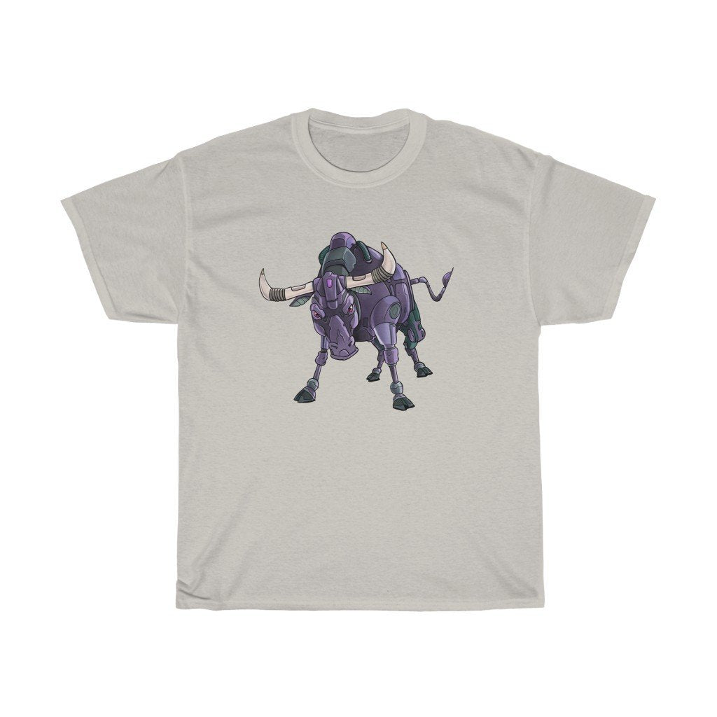 """Bull Robot"" Premium T-Shirt - Dan Pearce Creative Shop"