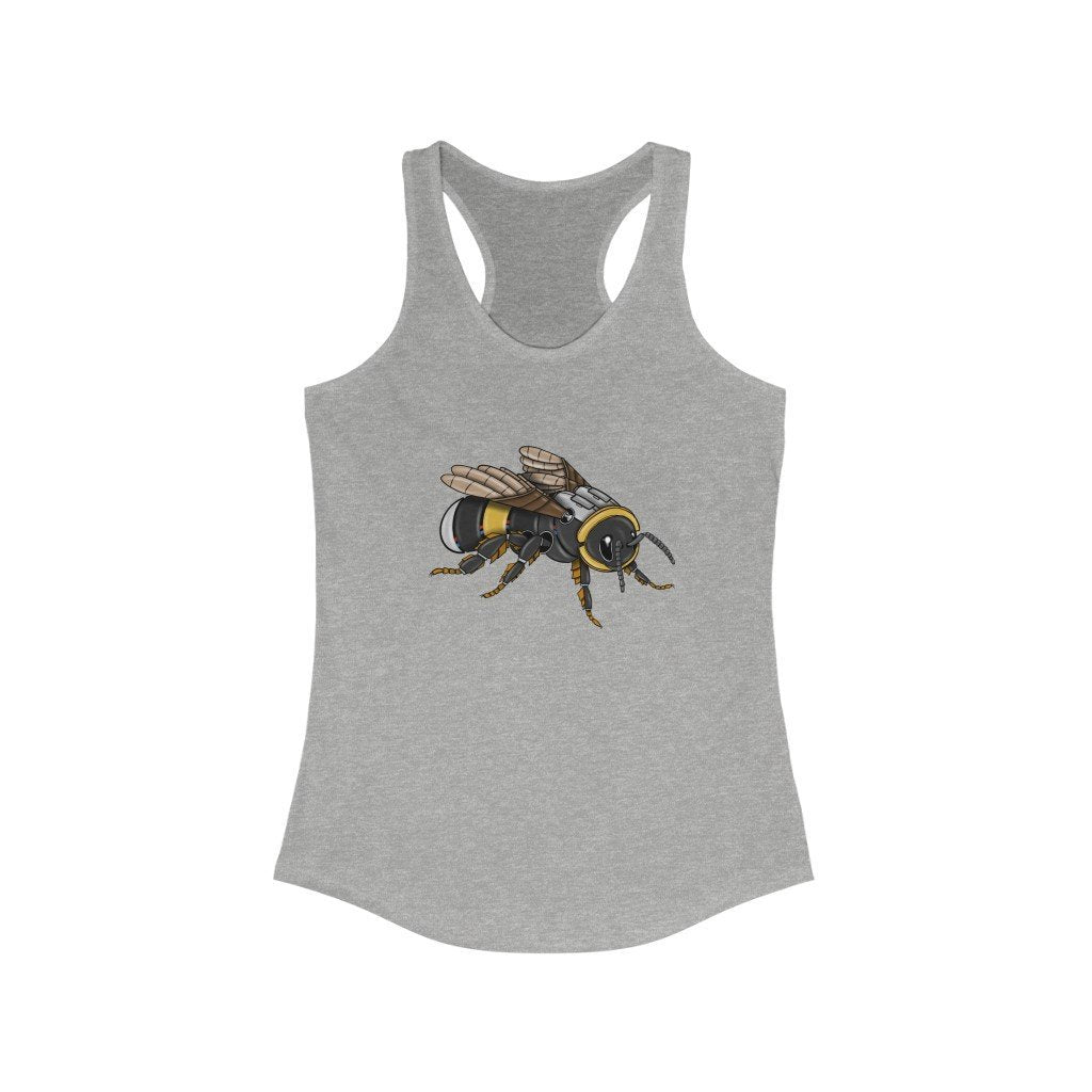"""Bumblebee Robot"" Women's Ideal Racerback Tank - Dan Pearce Creative Shop"