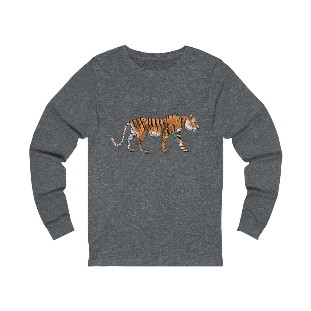 """Tiger Robot"" Long-Sleeve Premium T-Shirt"