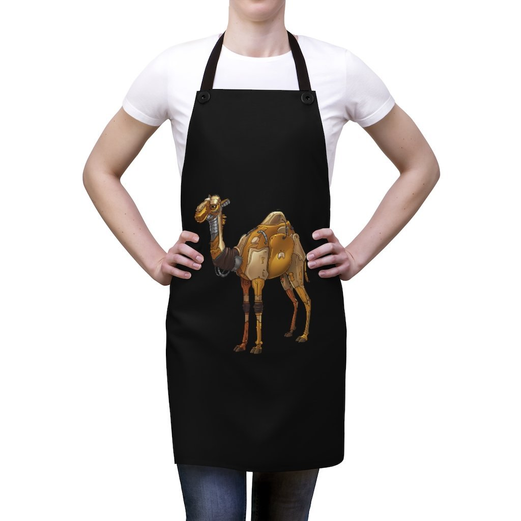 """Camel Robot"" Cooking Apron Featuring Art by Dan Pearce - Dan Pearce Creative Shop"