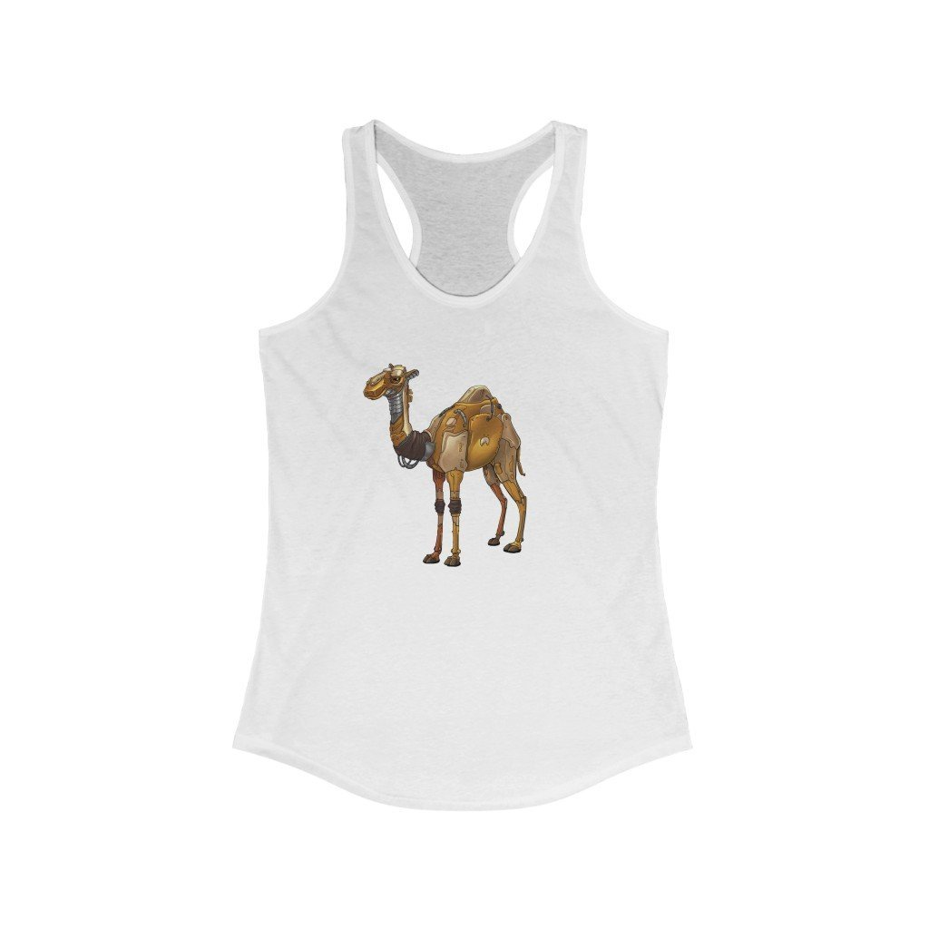 """Camel Robot"" Women's Ideal Racerback Tank - Dan Pearce Creative Shop"