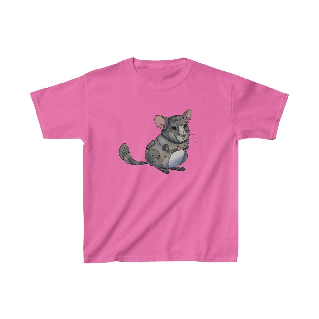"""Chinchilla Robot"" Kids Heavy Cotton™ T-Shirt (Youth) - Dan Pearce Creative Shop"