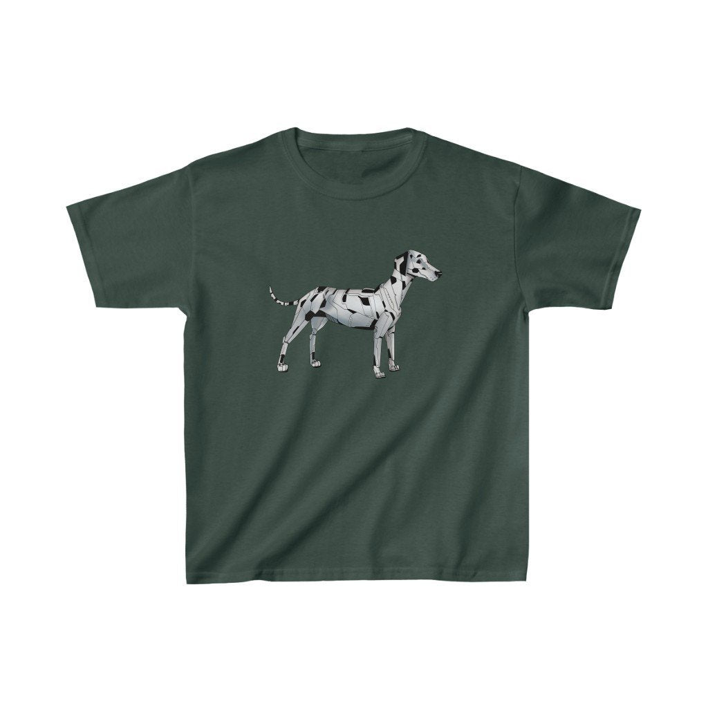 """Dalmatian Robot"" Kids Heavy Cotton™ T-Shirt (Youth) - Dan Pearce Creative Shop"