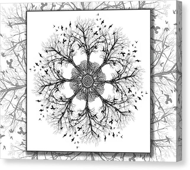 Dan Pearce's Mandala #10 Gallery Wrap Art Canvas - Dan Pearce Creative Shop