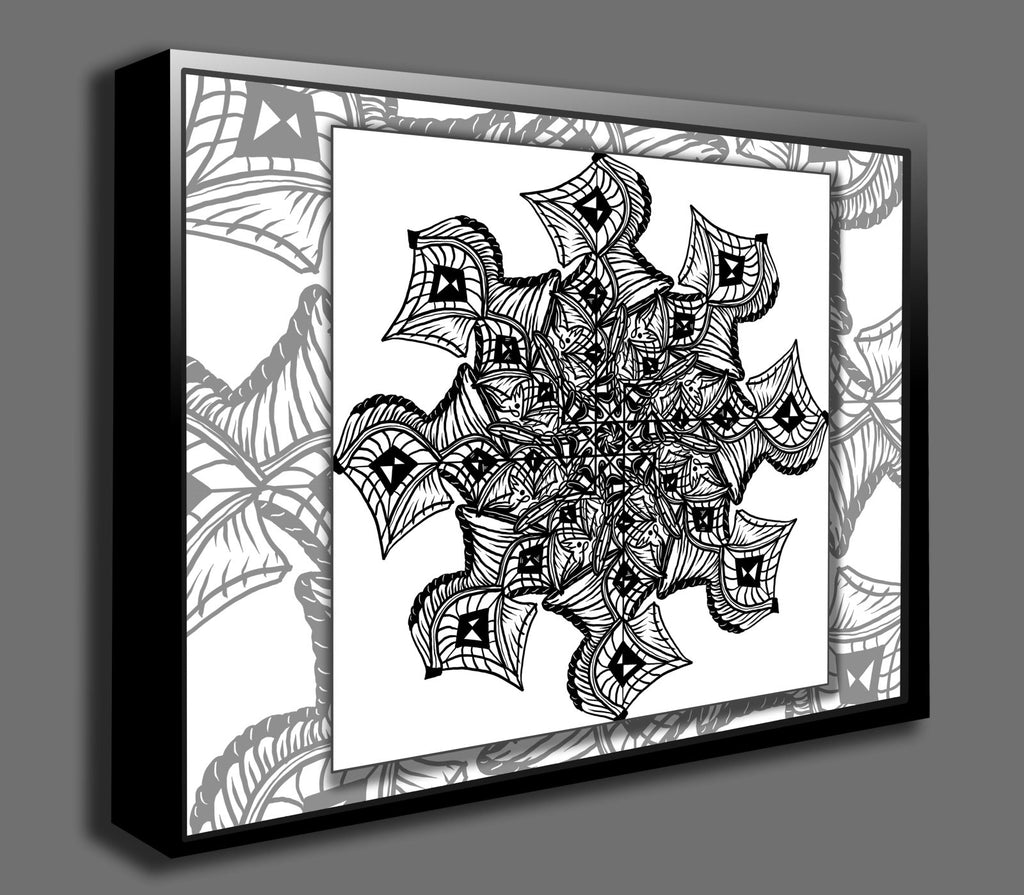 Dan Pearce's Mandala #11 Gallery Wrap Art Canvas - Dan Pearce Creative Shop