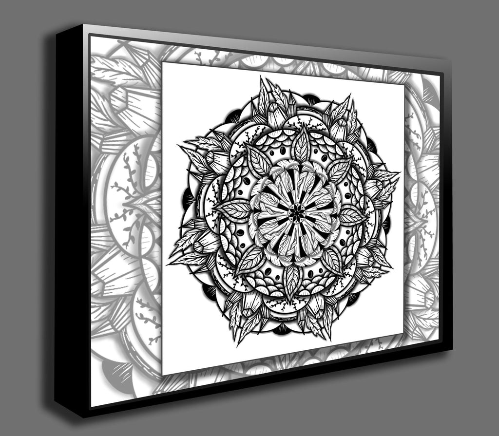 Dan Pearce's Mandala #15 Gallery Wrap Art Canvas - Dan Pearce Creative Shop