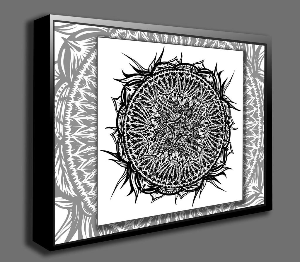 Dan Pearce's Mandala #16 Gallery Wrap Art Canvas - Dan Pearce Creative Shop