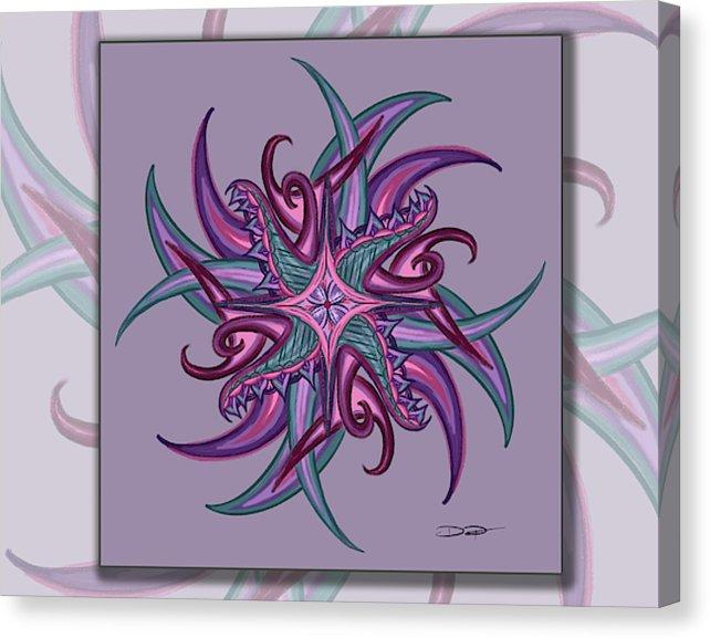 Dan Pearce's Mandala #17 Gallery Wrap Art Canvas - Dan Pearce Creative Shop