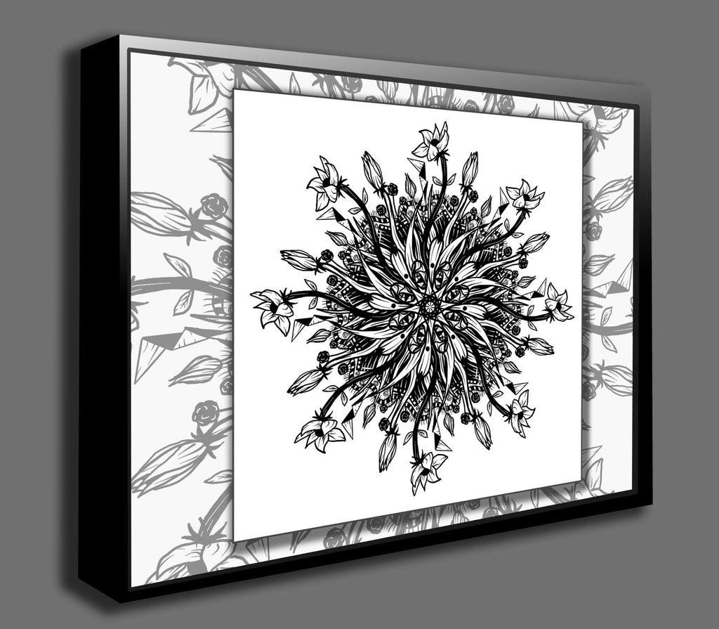 Dan Pearce's Mandala #7 Gallery Wrap Art Canvas - Dan Pearce Creative Shop