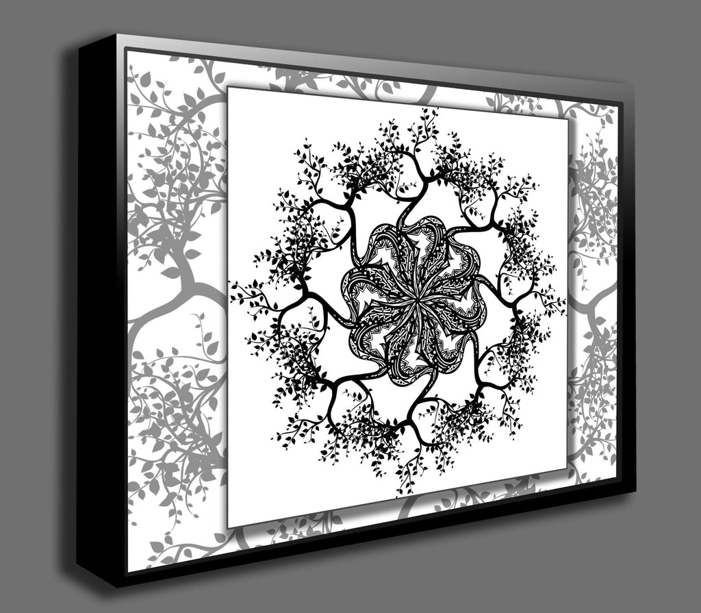 Dan Pearce's Mandala #9 Gallery Wrap Art Canvas - Dan Pearce Creative Shop