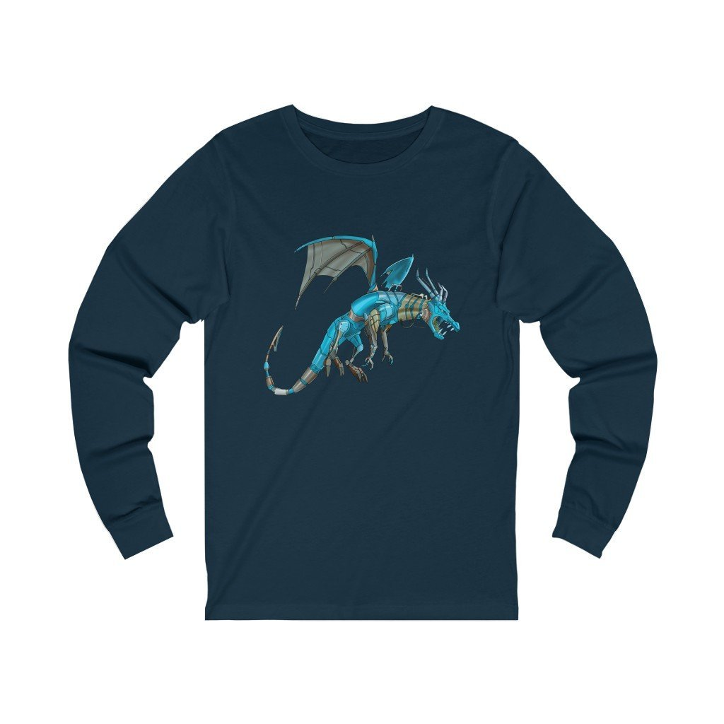 """Dragon Robot"" Long-Sleeve Premium T-Shirt - Dan Pearce Creative Shop"