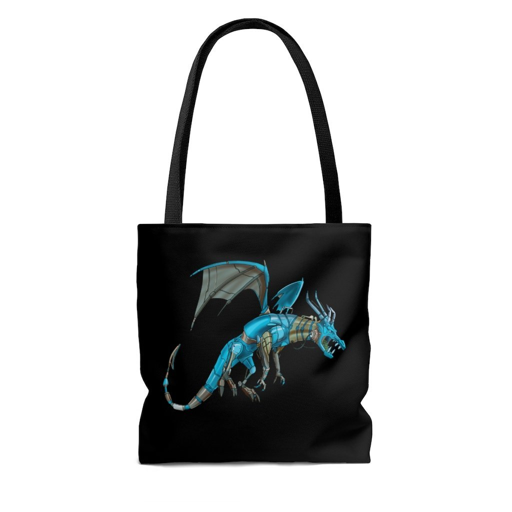 """Dragon Robot"" Tote Bag - Dan Pearce Creative Shop"
