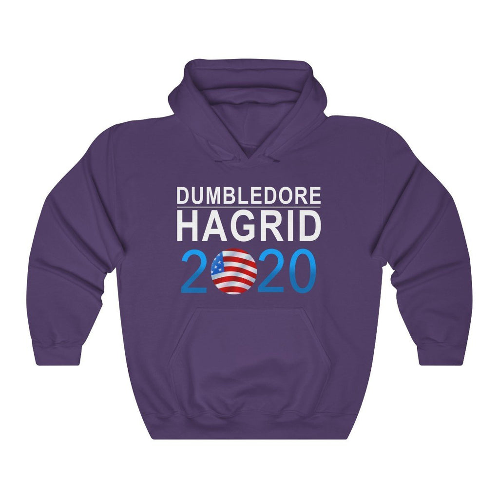 """Dumbledore Hagrid 2020"" Election Premium Hooded Sweatshirt (Hoodie) - Dan Pearce Creative Shop"