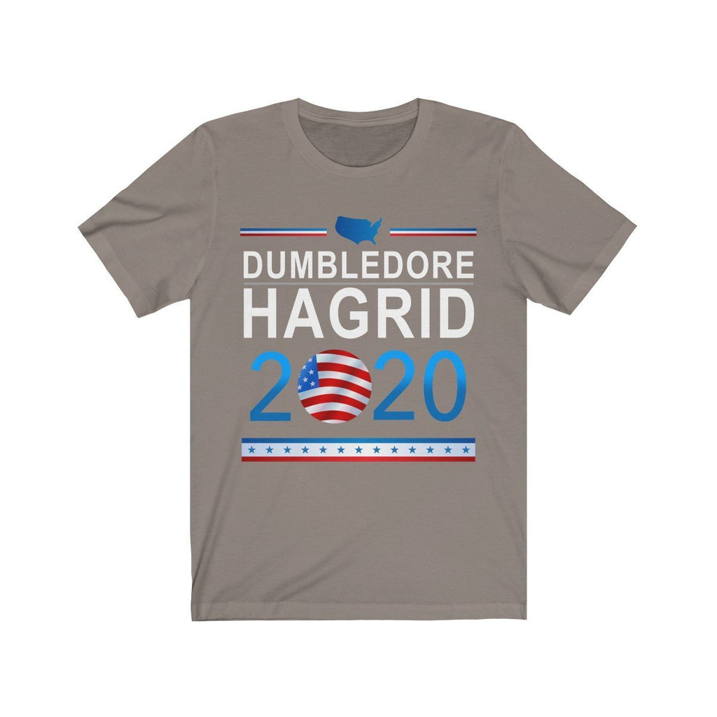 """Dumbledore Hagrid 2020"" Election Premium T-Shirt - Dan Pearce Creative Shop"