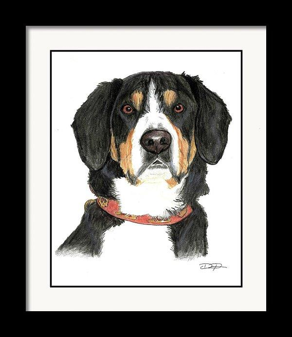 Entlebucher Fine Art Print - Dan Pearce Creative Shop