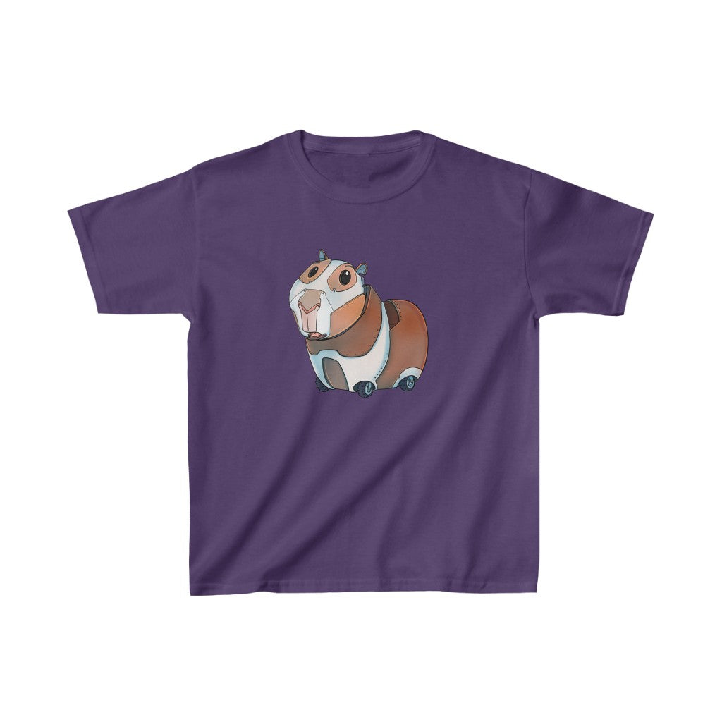 """Guinea Pig Robot"" Kids Heavy Cotton™ T-Shirt (Youth)"
