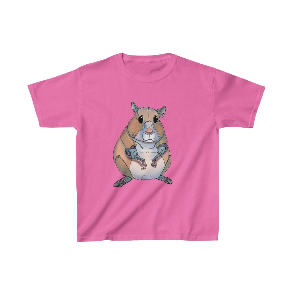 """Hamster Robot"" Kids Heavy Cotton™ T-Shirt (Youth)"