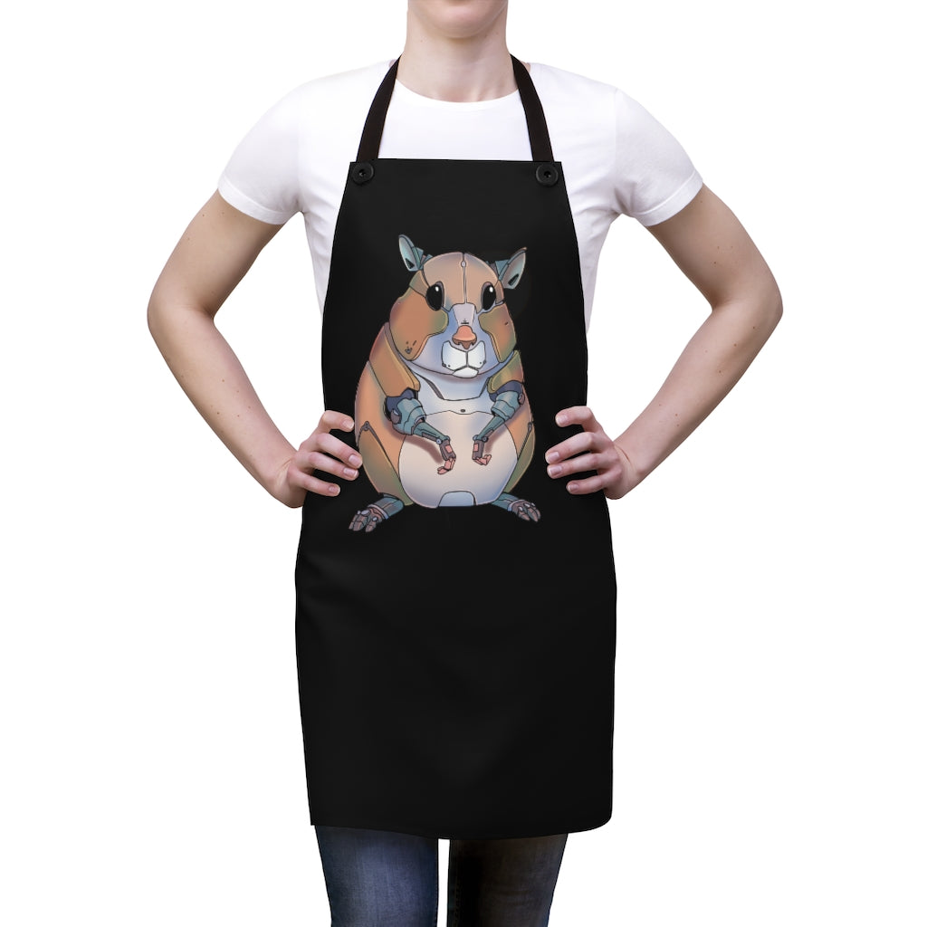 """Hamster Robot"" Cooking Apron"