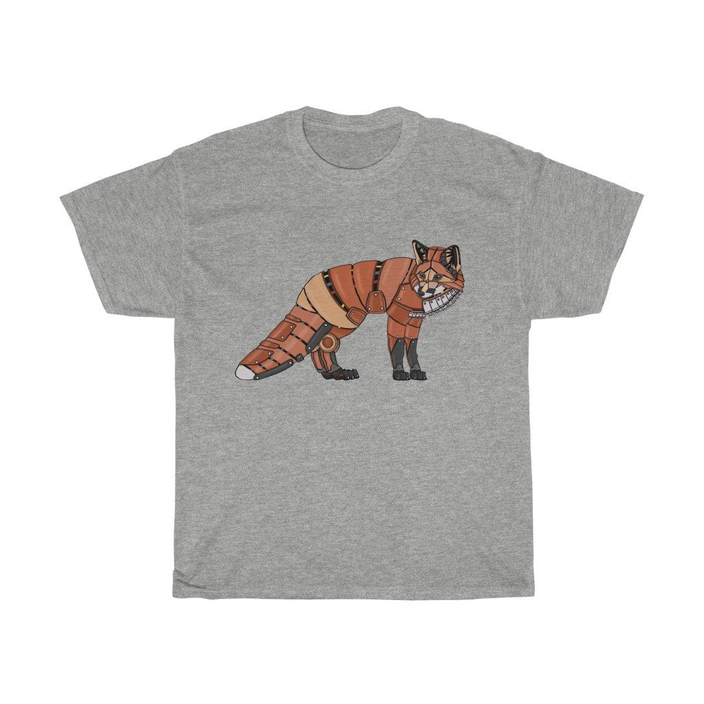 """Fox Robot"" Premium T-Shirt - Dan Pearce Creative Shop"