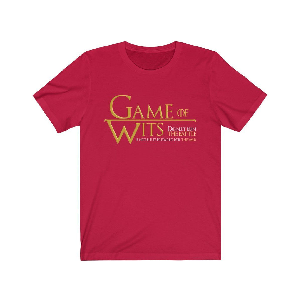 """Game of Wits"" T- Premium Shirt - ""Do Not Join the Battle if Not Fully Prepared for the War"" - Dan Pearce Creative Shop"