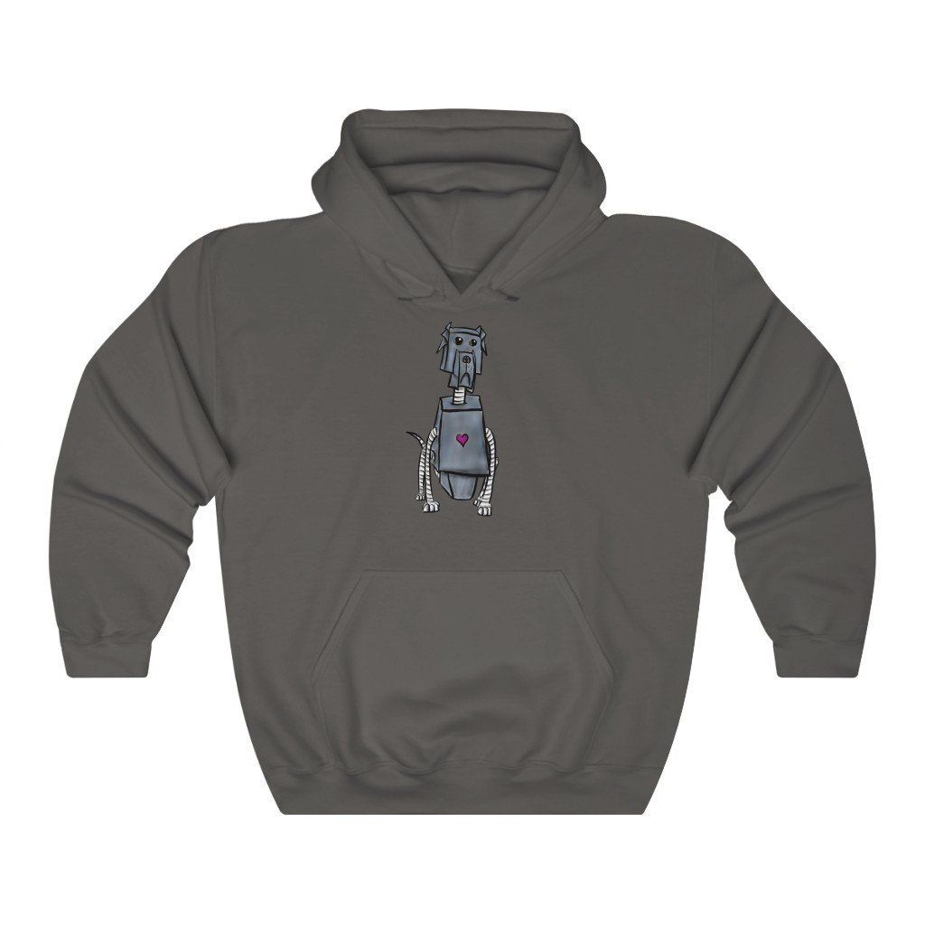 """Great Dane Dog Robot"" Hooded Sweatshirt by Dan Pearce (Hoodie) - Dan Pearce Creative Shop"