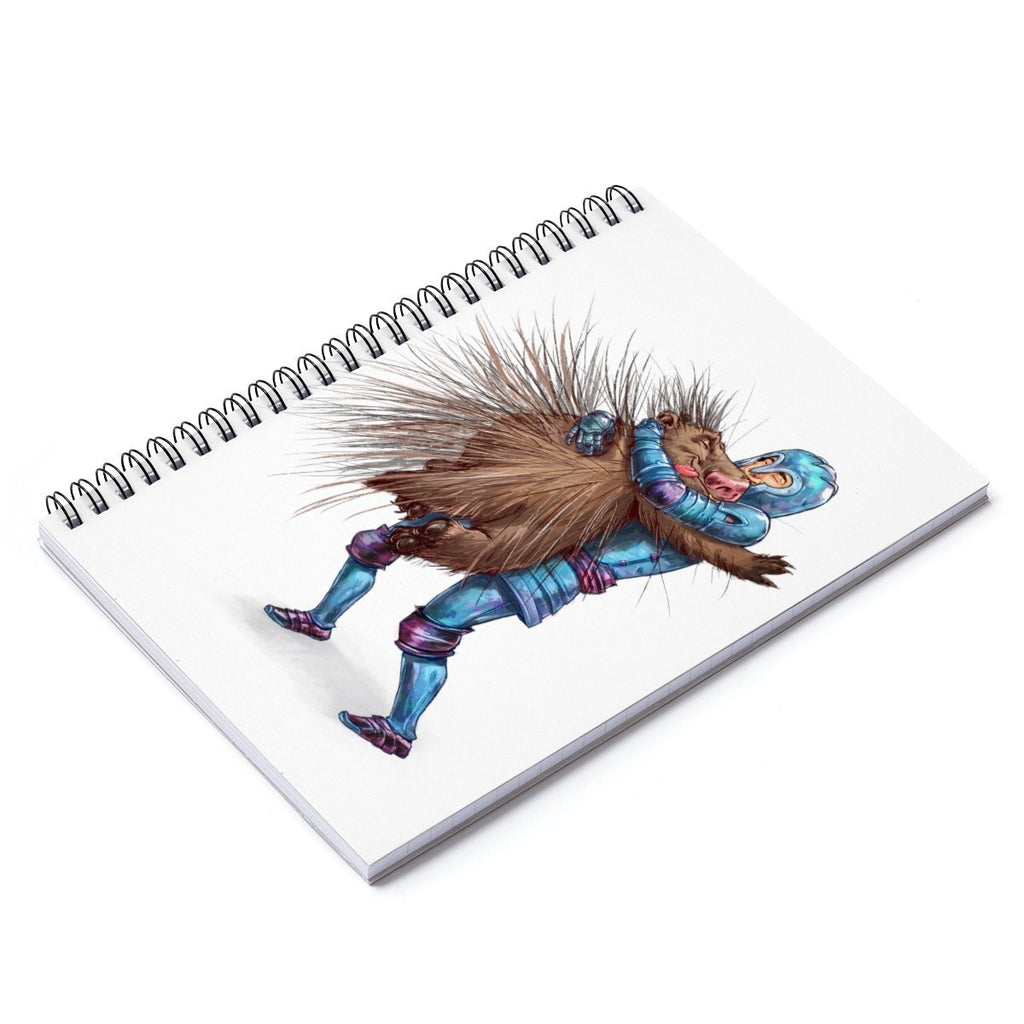 """How to Hug a Porcupine"" Designer Notebook - Dan Pearce Creative Shop"