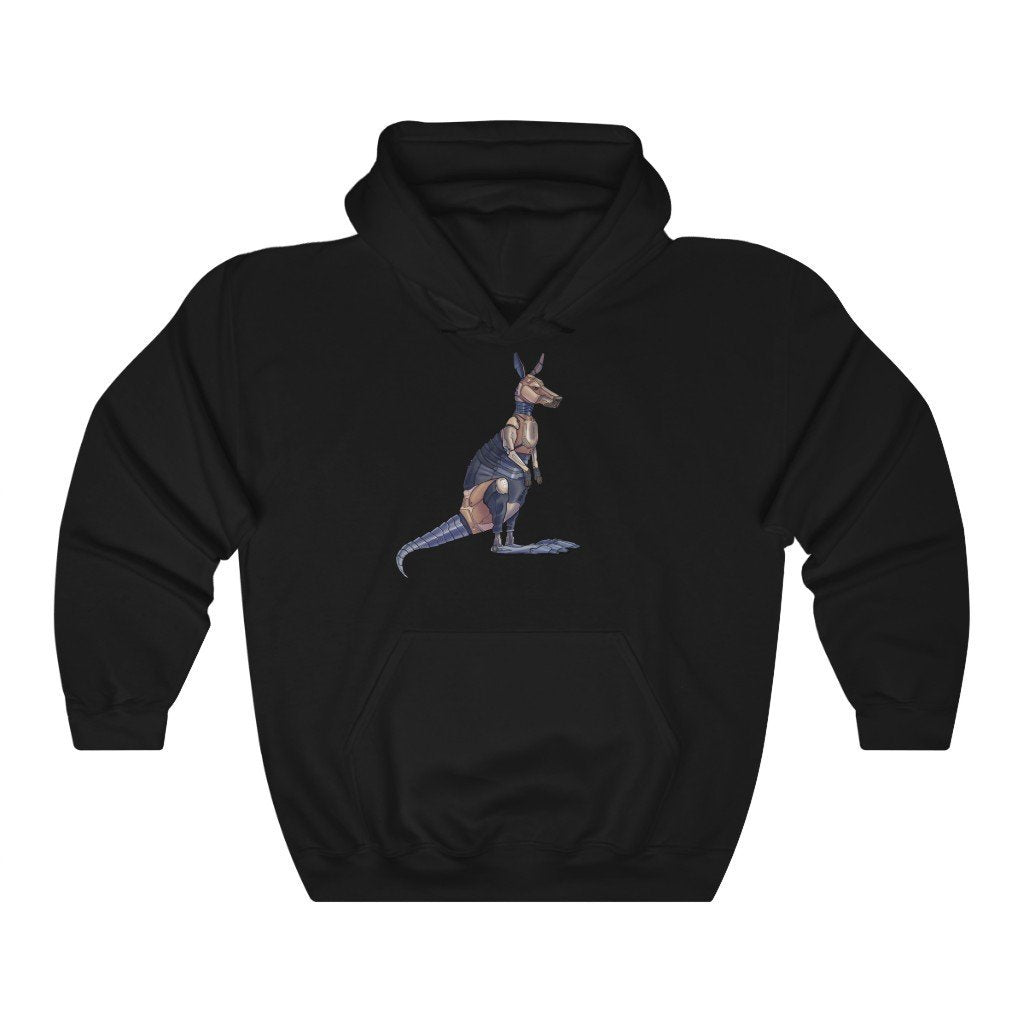 """Kangaroo Robot"" Hooded Sweatshirt by Dan Pearce (Hoodie) - Dan Pearce Creative Shop"