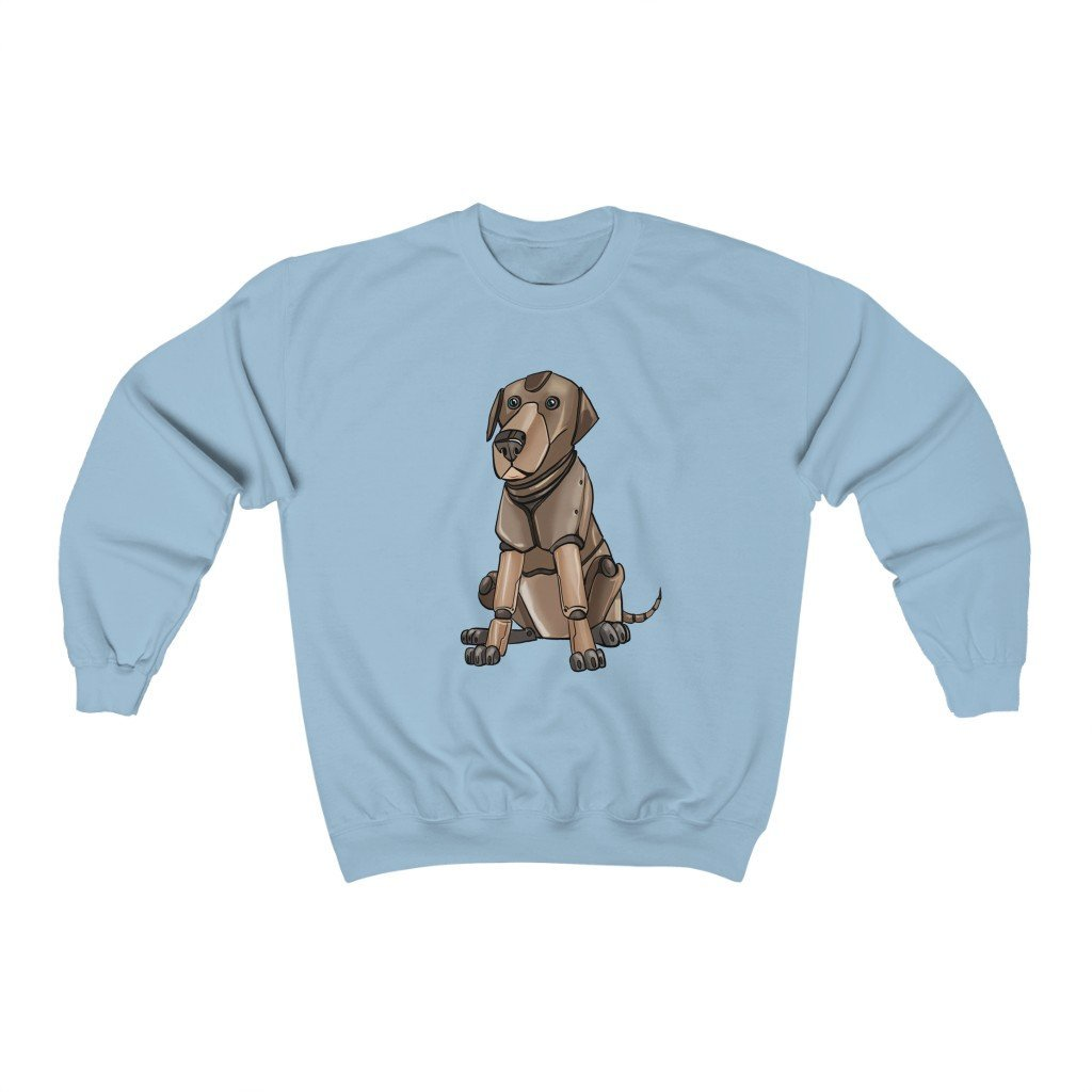 """Labrador Retriever Robot"" Crewneck Premium Sweatshirt - Dan Pearce Creative Shop"