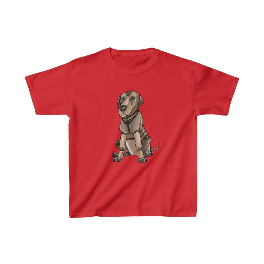 """Labrador Retriever Robot"" Kids Heavy Cotton™ T-Shirt (Youth) - Dan Pearce Creative Shop"
