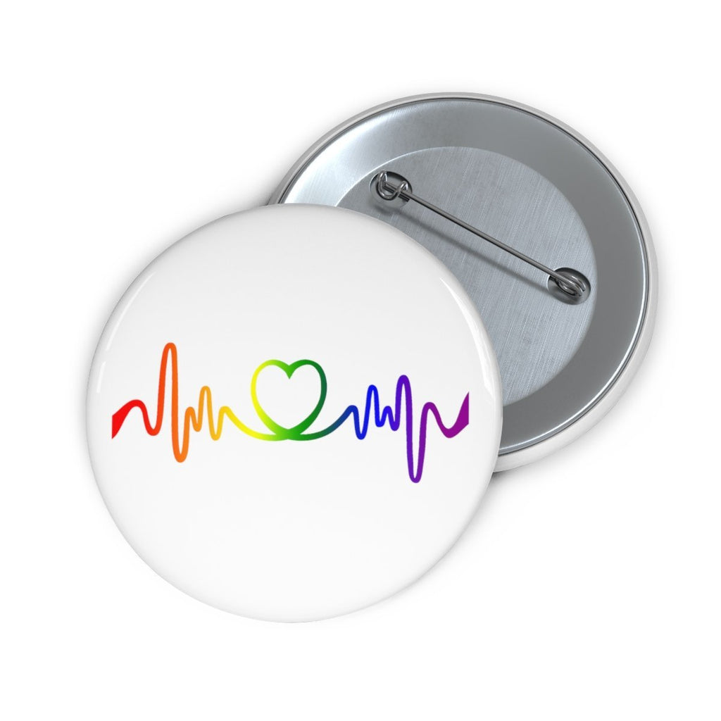 """Love is Love"" Pin Button - Dan Pearce Creative Shop"