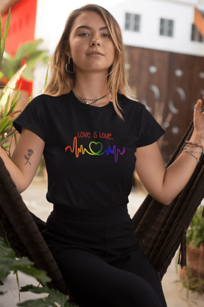 """Love is Love"" Premium T-Shirt - Dan Pearce Creative Shop"