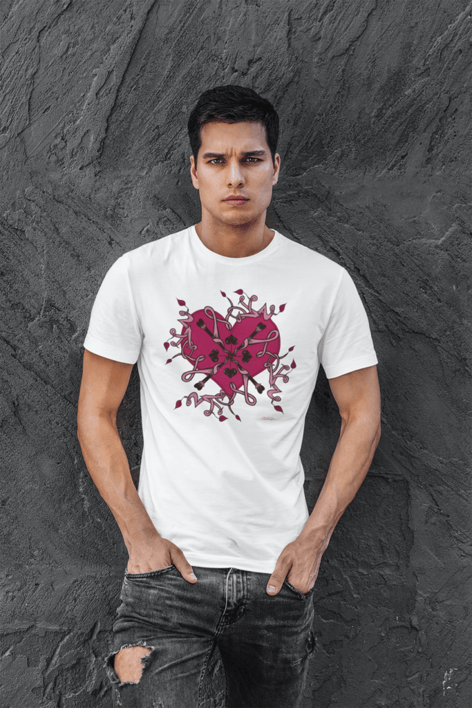 """Love Mandala"" Premium T-Shirt - Dan Pearce Creative Shop"