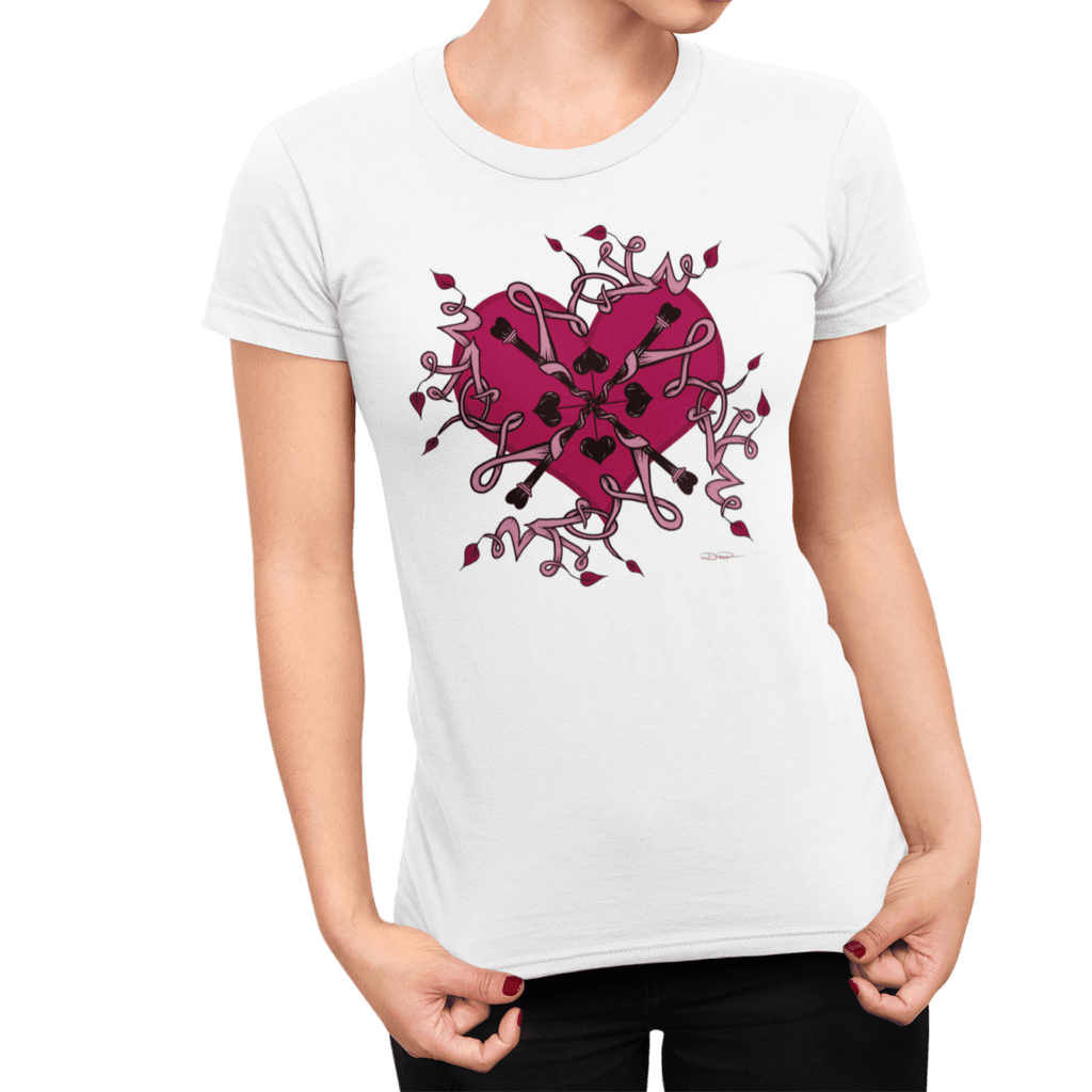 """Love Mandala"" Premium T-Shirt (Women's) - Dan Pearce Creative Shop"