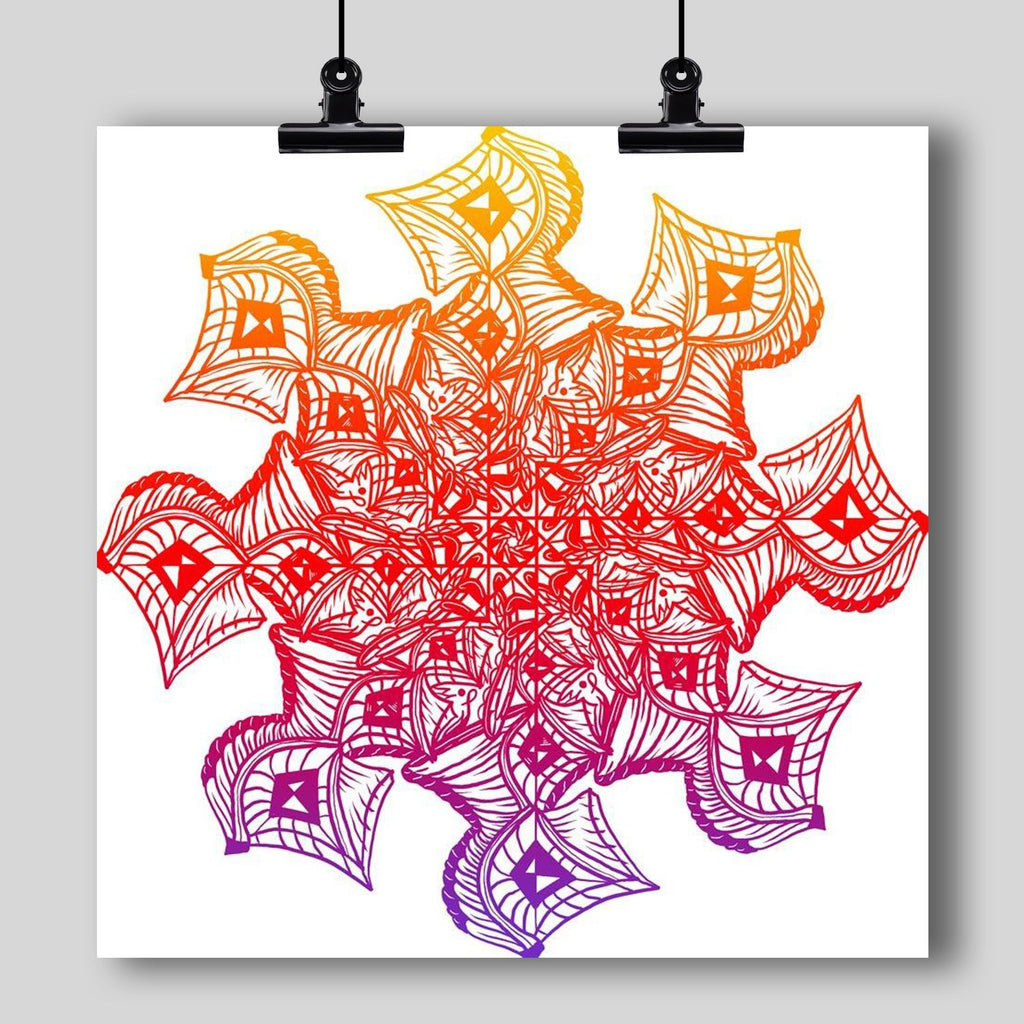 """Mandala"" Art Print #11 by Artist Dan Pearce - Dan Pearce Creative Shop"