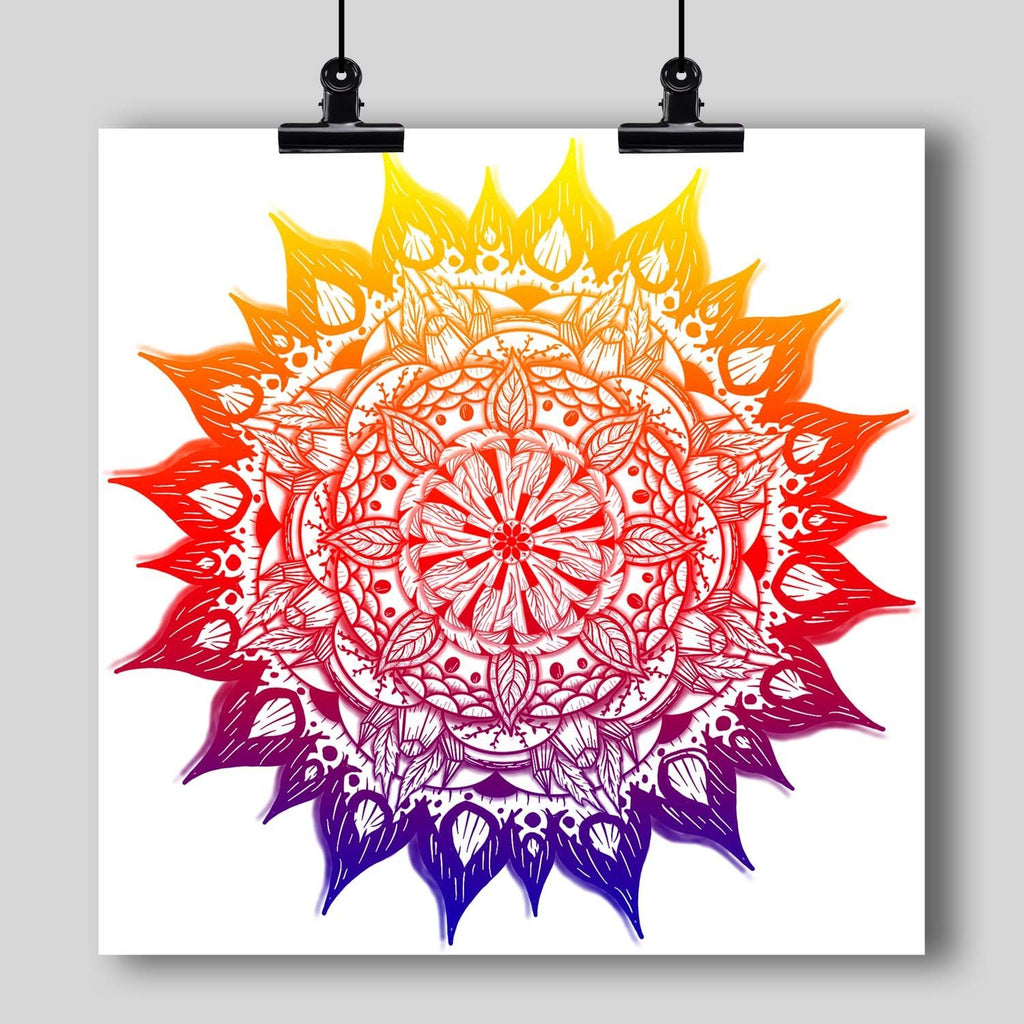 """Mandala"" Art Print #14 by Artist Dan Pearce - Dan Pearce Creative Shop"