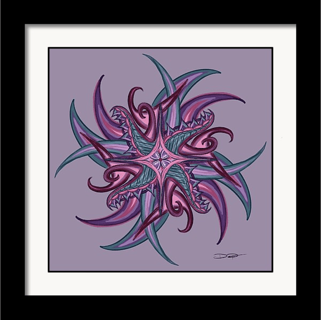 """Mandala"" Art Print #17 by Artist Dan Pearce - Dan Pearce Creative Shop"