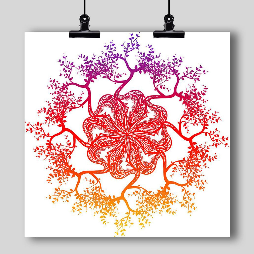 """Mandala"" Art Print #9 by Artist Dan Pearce - Dan Pearce Creative Shop"