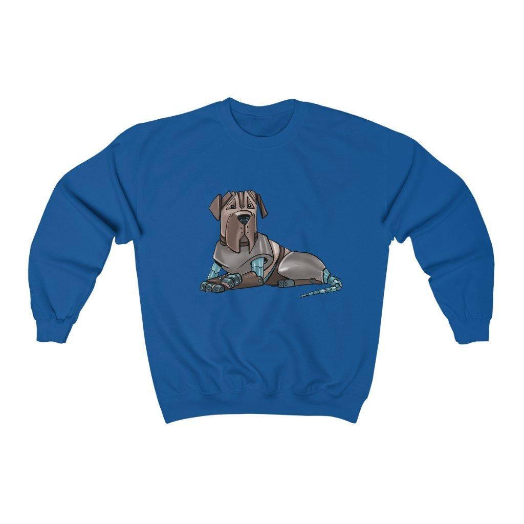 """Mastiff Robot"" Crewneck Premium Sweatshirt - Dan Pearce Creative Shop"