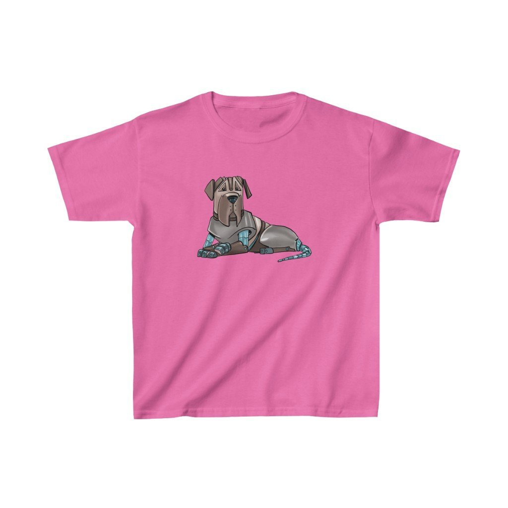 """Mastiff Robot"" Kids Heavy Cotton™ T-Shirt (Youth) - Dan Pearce Creative Shop"