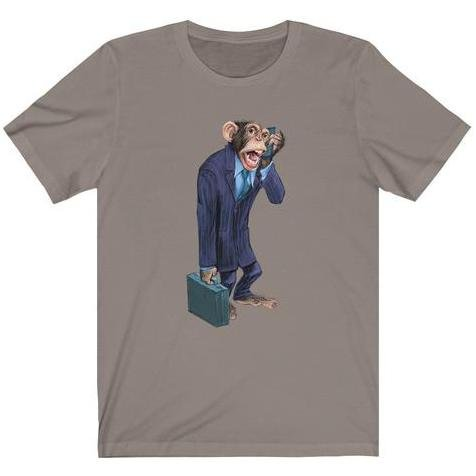 """Monkey Business"" Premium T-Shirt Design - Dan Pearce Creative Shop"