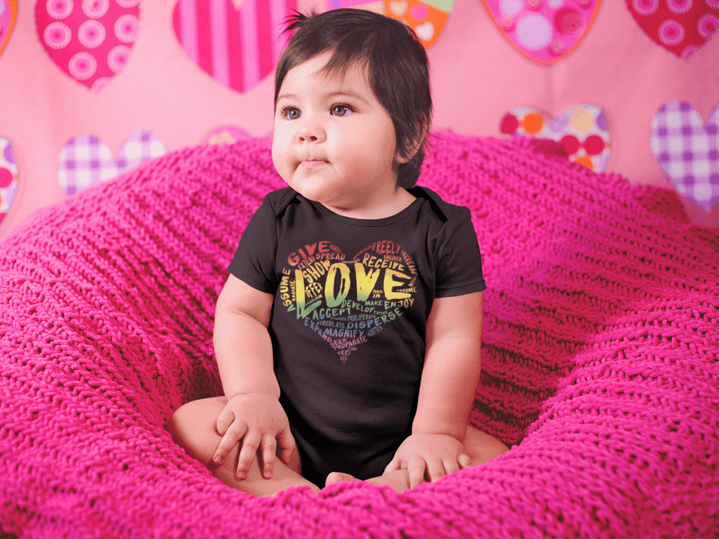 Official LOVE Baby Onesie by SDL - Dan Pearce Creative Shop