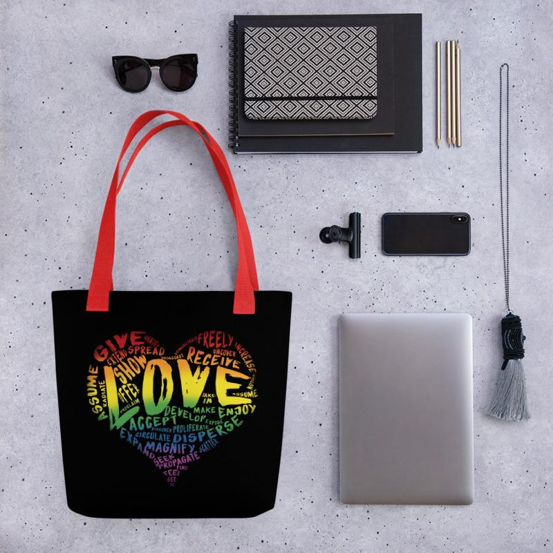 Official LOVE Tote by Single Dad Laughing - Dan Pearce Creative Shop