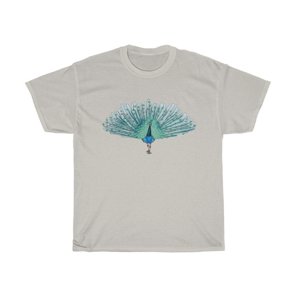 """Peacock Robot"" Premium T-Shirt - Dan Pearce Creative Shop"