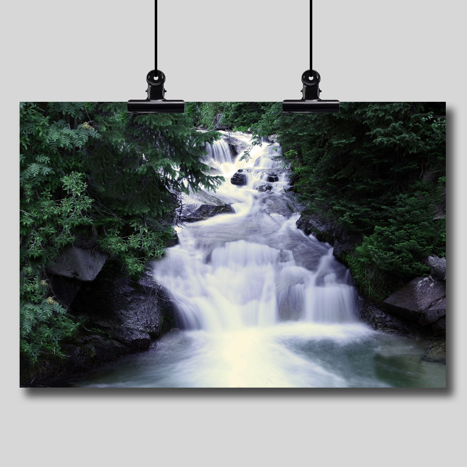 Photo Print: Horsetail Falls