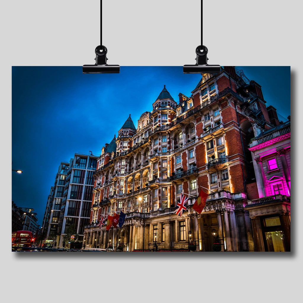 Photo Print: Mandarin Oriental (Hyde Park) - Dan Pearce Creative Shop