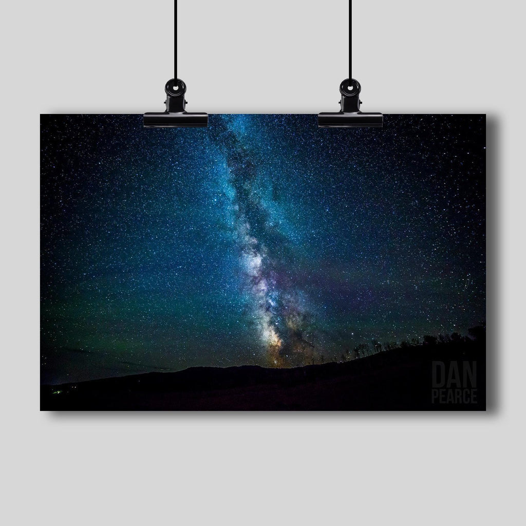 Photo Print: Milky Way Galaxy - Dan Pearce Creative Shop