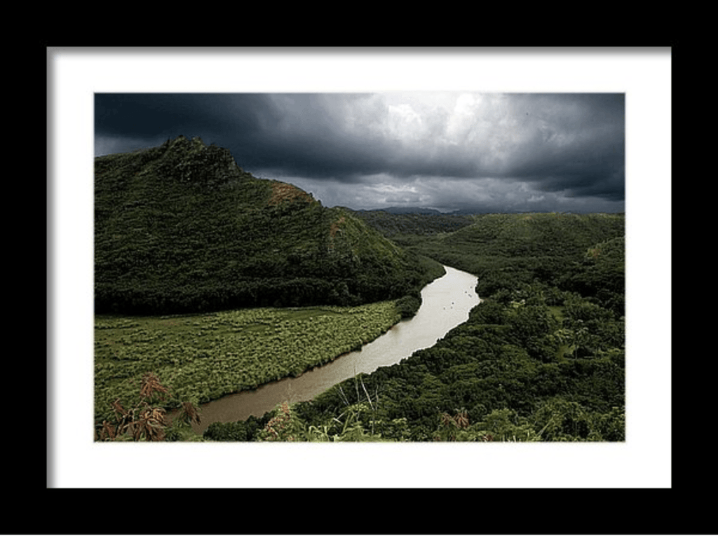Photo Print: Serenity - Hawaiian River - Dan Pearce Creative Shop