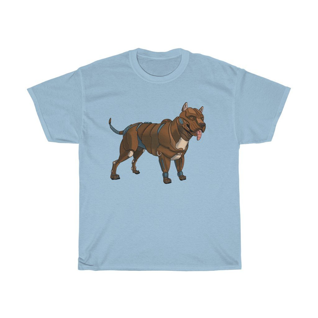 """Pitbull Terrier Robot"" Premium T-Shirt - Dan Pearce Creative Shop"