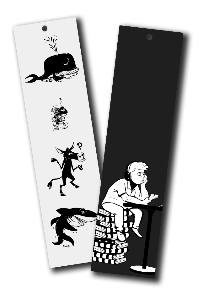 Poker Art Bookmarks Pack #3 (all 6 bookmarks!) - Dan Pearce Creative Shop