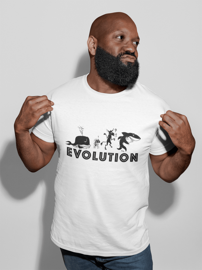 Poker T-Shirt: Evolution of a Poker Player - Dan Pearce Creative Shop